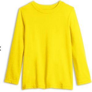 PRIMARY Basic Yellow Long Sleeve Tee
